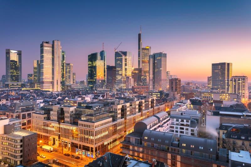 основа frankfurt Германии стоковые изображения
