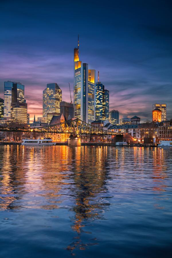 основа frankfurt Германии стоковые фотографии rf