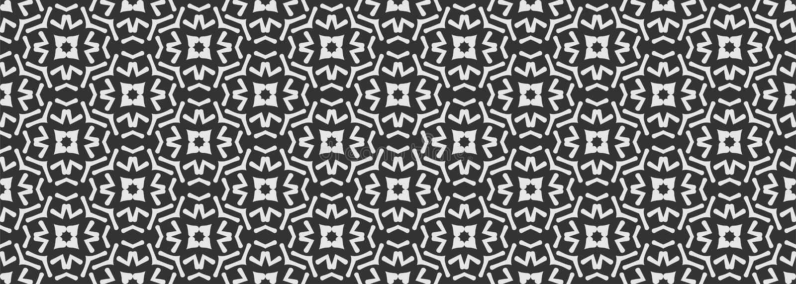 Seamless geometric pattern, abstract background for your design stock illustration