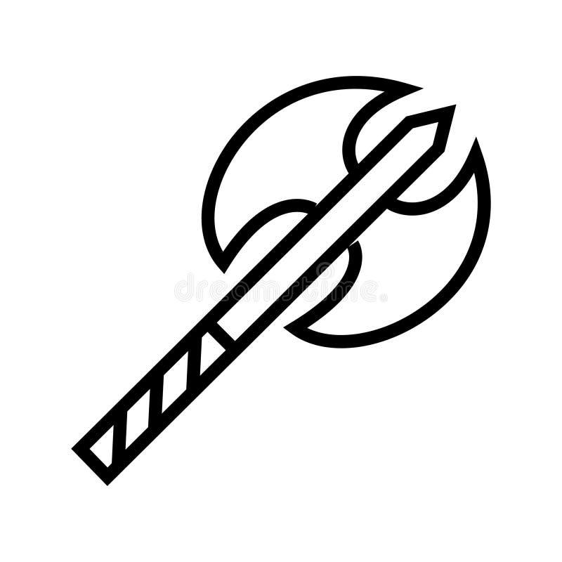 Axe Icon Vector stock illustration