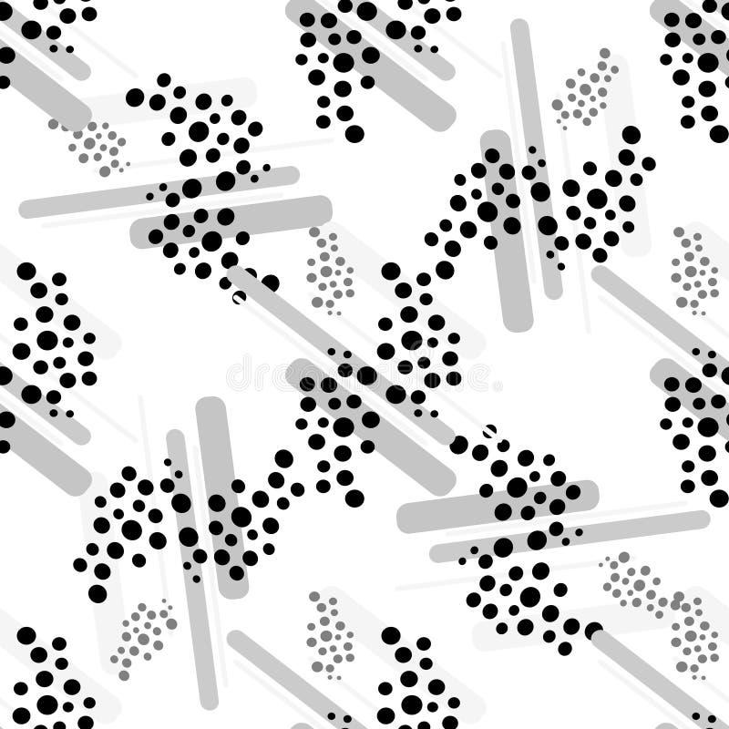 Pattern Of dots stock illustration
