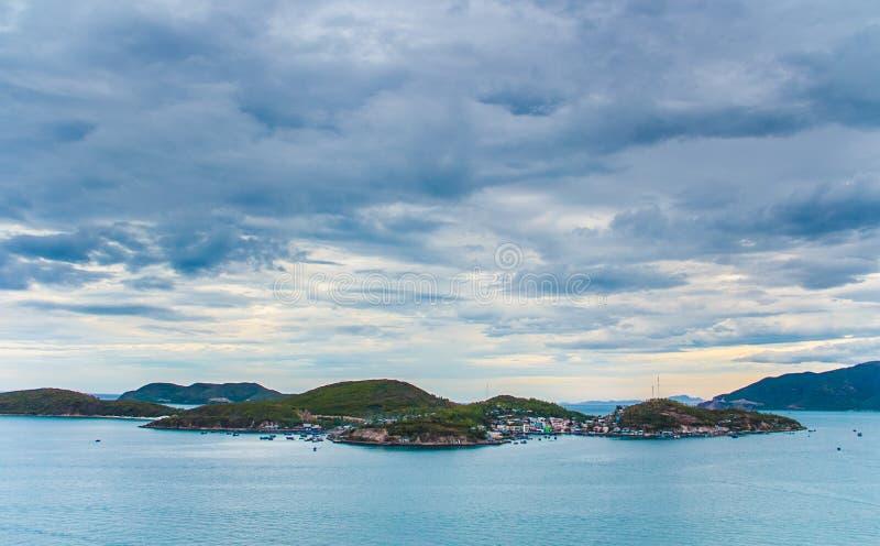 Острова в Нячанге stock images