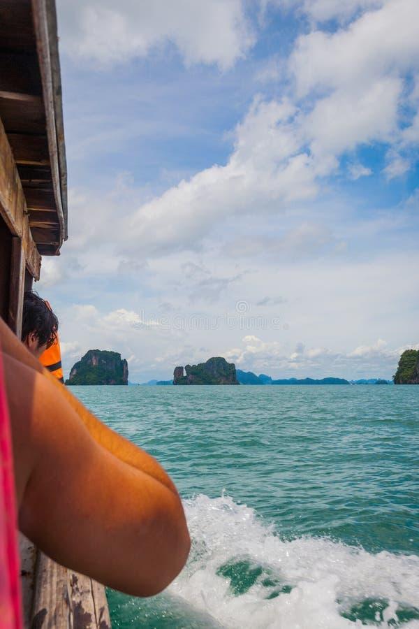 Острова пляжа Krabi стоковое изображение