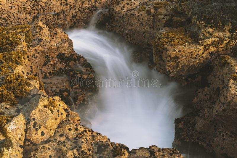Остров США Гаваи большой, волшебное scenics пляжей, заходы солнца, вулканы, утесы, фотография изящного искусства стоковые изображения rf