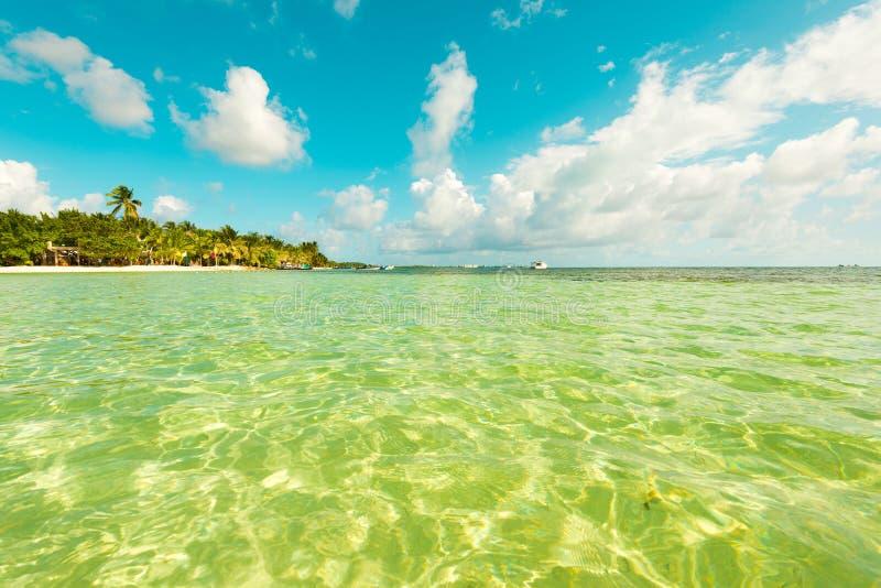 Остров San Andres на Вест-Инди, Колумбии стоковое фото