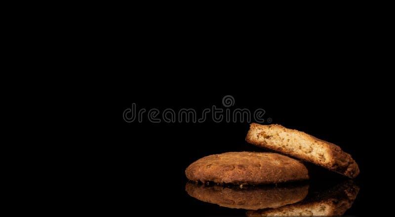 Оранжевые печенья Crinkle стоковое фото