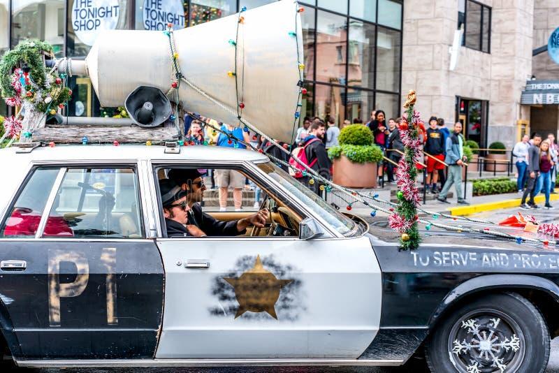 ОРЛАНДО, ФЛОРИДА, США - ДЕКАБРЬ 2018: автомобиль братьев син на тематическом парке студий Universal стоковое изображение rf