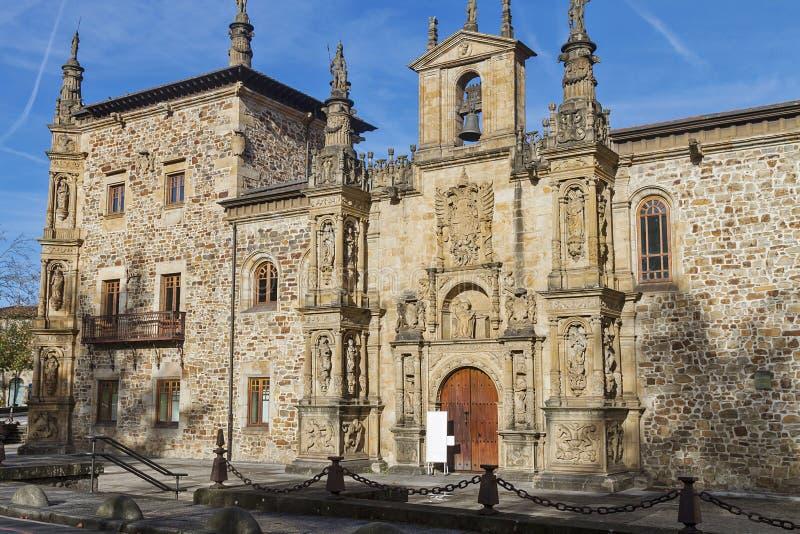 Oñati basque village. Oñati village in Gipuzkoa, Basque Country stock photos