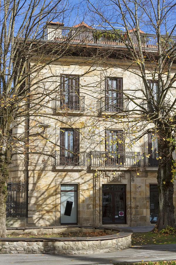 Oñati basque village. Oñati village in Gipuzkoa, Basque Country royalty free stock photos