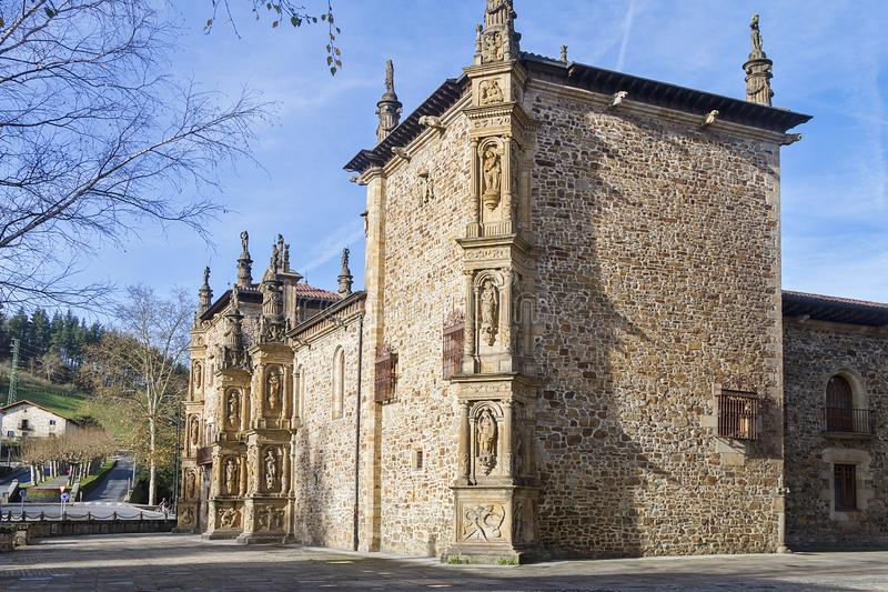 Oñati basque village. Oñati village in Gipuzkoa, Basque Country royalty free stock photography