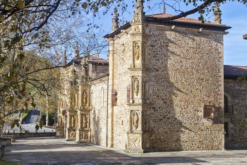 Oñati basque village. Oñati village in Gipuzkoa, Basque Country royalty free stock image