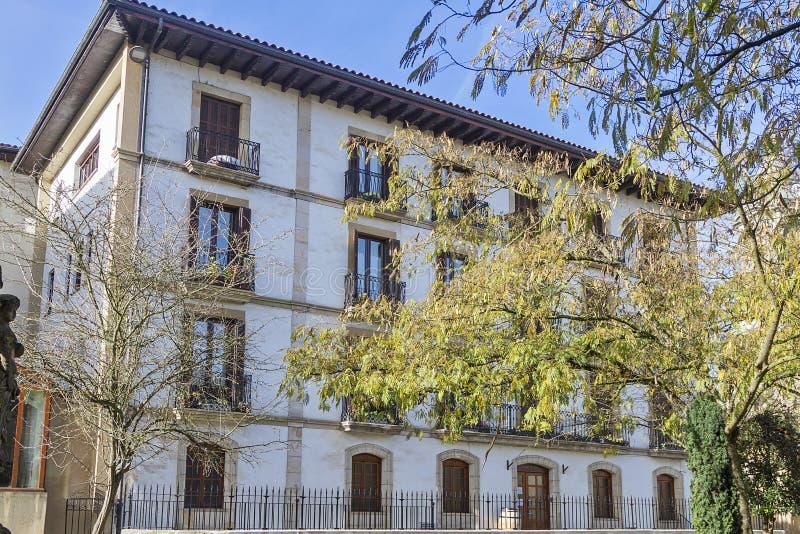 Oñati basque village. Oñati village in Gipuzkoa, Basque Country stock photography