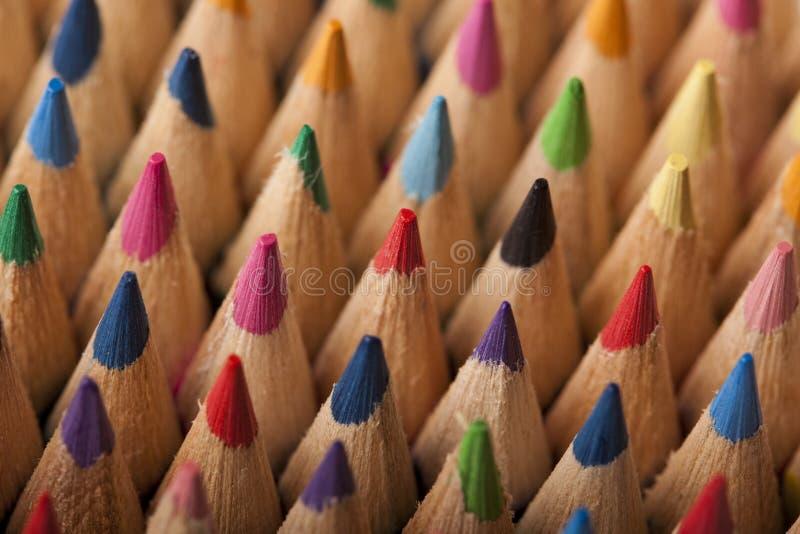 ołówek barwiona fala zdjęcia royalty free