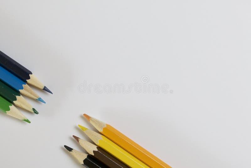 ołówek barwiona ostrzarka obrazy royalty free