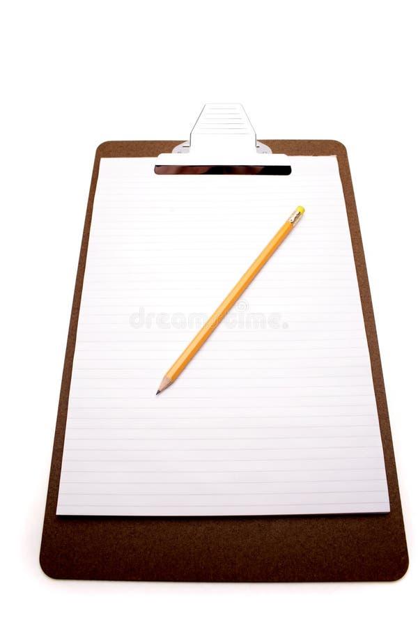 ołówek schowka zdjęcia stock