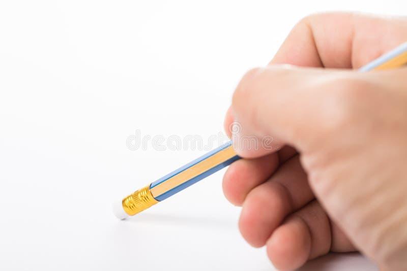 Ołówek wymazujący zdjęcia stock
