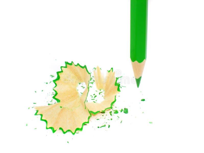 ołówka zaprawiony white zdjęcie stock