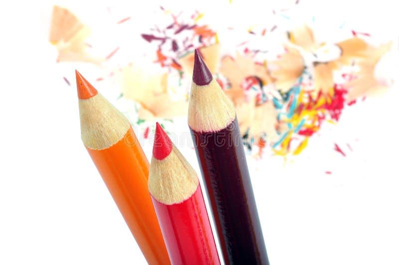 ołówki zdjęcie stock