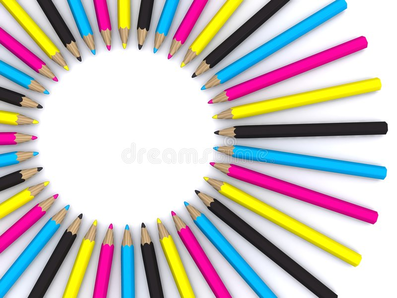 ołówki royalty ilustracja