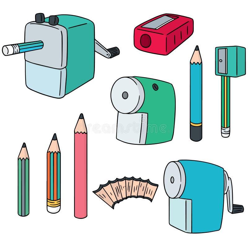 Ołówkowa ostrzarka ilustracji