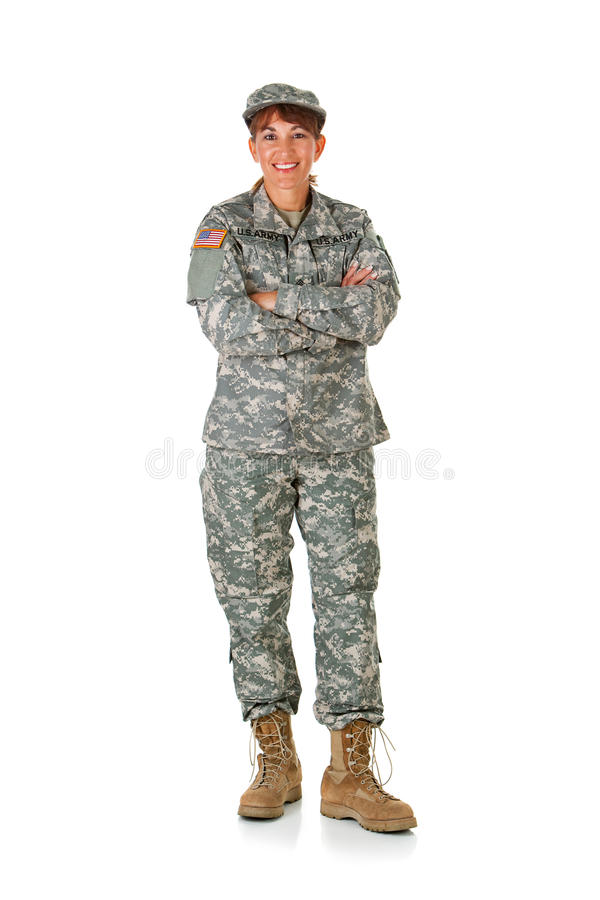 Żołnierz: Stać Przy spokojem obraz stock