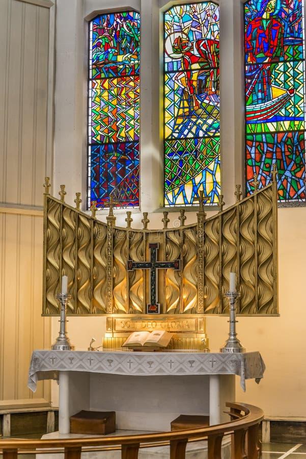 Ołtarzowa Bodo katedra obraz stock