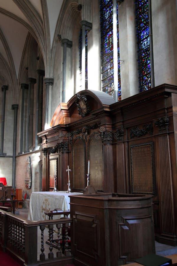 ołtarzowa kościelna świątynia fotografia stock