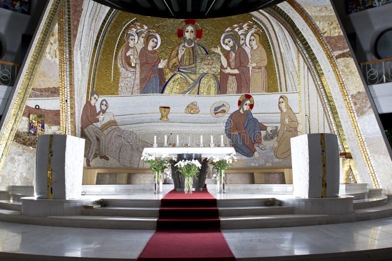 ołtarzowy kościół zdjęcia royalty free