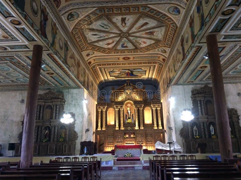 ołtarzowy kościelny Ljubljana Slovenia brać zdjęcie stock