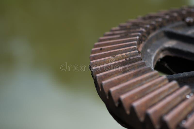 Ośniedziała i wazeliniarska wodnej bramy przekładnia zdjęcia stock