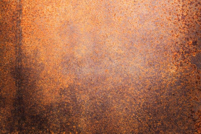 Ośniedziała metal tekstura lub ośniedziały metalu tło ośniedziały metal dla wewnętrznego zewnętrznego dekoracja projekta obraz stock