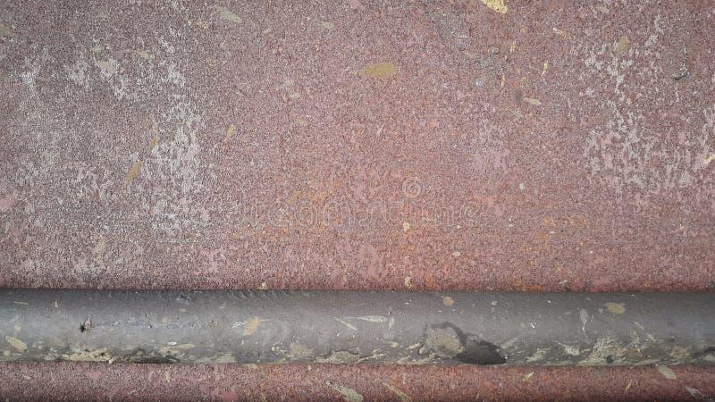 ośniedziała metal tekstura Ośniedziały abstrakcjonistyczny tło z trąbką zdjęcie royalty free