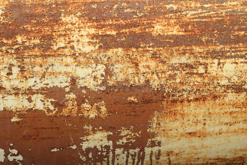 Ośniedziała metalu abstrakta tekstura obrazy royalty free