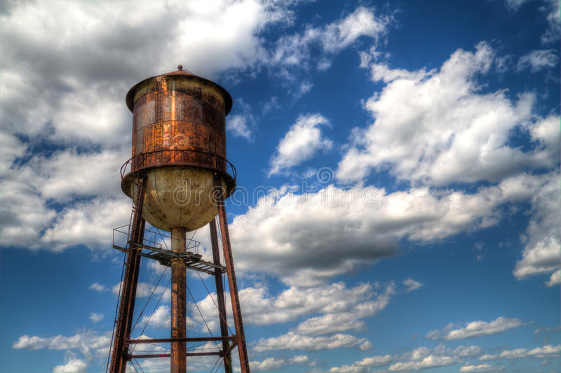 Ośniedziała Wieża Ciśnień zdjęcia stock