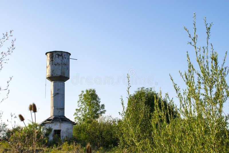 Ośniedziała Wieża Ciśnień obrazy stock