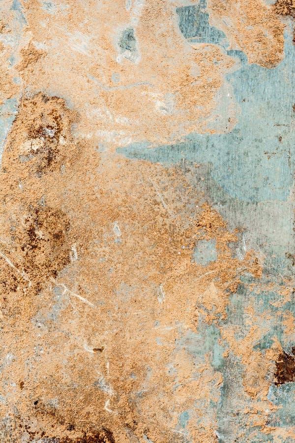Ośniedziałego metalu textured tło, abstrakcjonistyczny tło zdjęcia stock