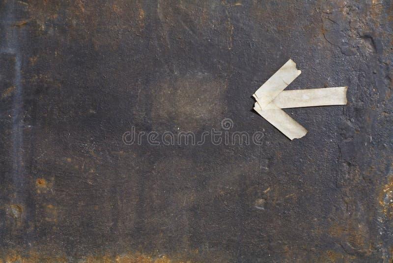 Download Ośniedziały żelazo Talerz Z Strzałkowatej, Bezpłatnej Kopii Przestrzenią, Obraz Stock - Obraz złożonej z talerz, bezpłatny: 53792031