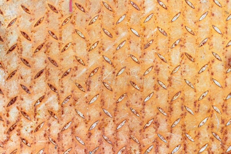 Ośniedziały i porysowany textured metalu prześcieradło abstrakcyjny tło zdjęcie royalty free