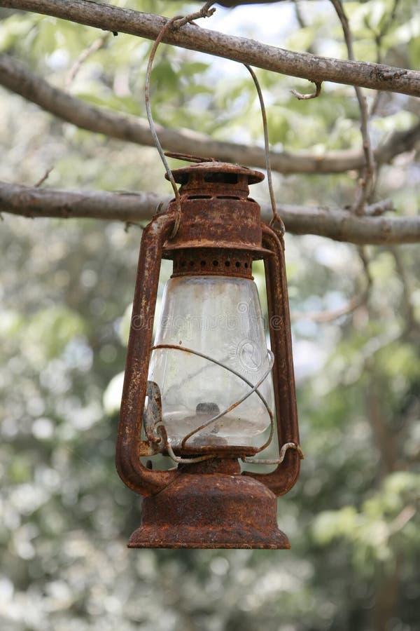 Ośniedziały Lampion Fotografia Stock