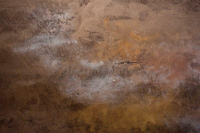 Ośniedziały metal korodujący tekstury tło obrazy royalty free