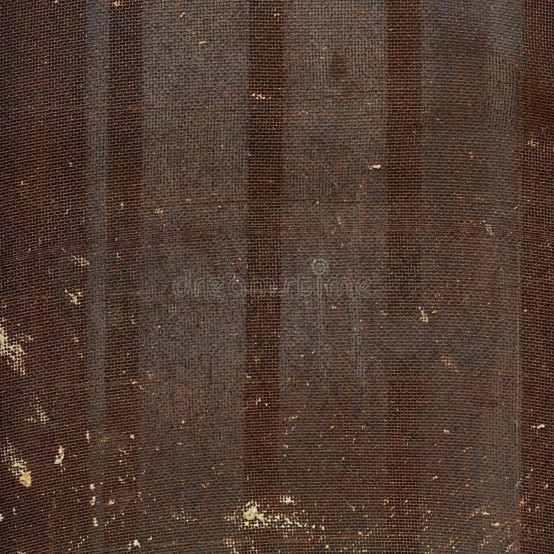 Ośniedziały metal sieci czerep obrazy stock