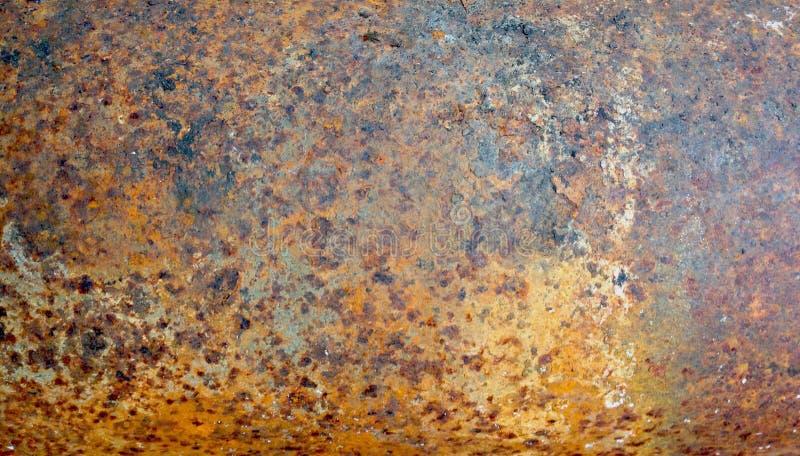 Ośniedziały metal tekstury Grunge abstrakta tło obrazy royalty free