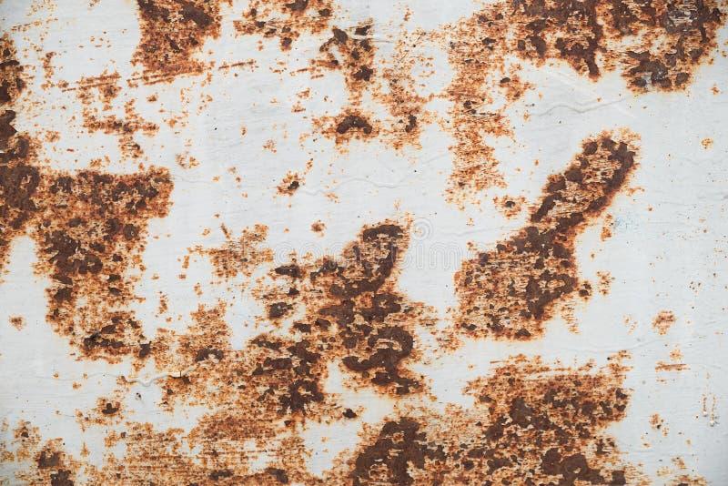 Ośniedziały metal, tekstury tło Żelazna powierzchni rdza fotografia royalty free