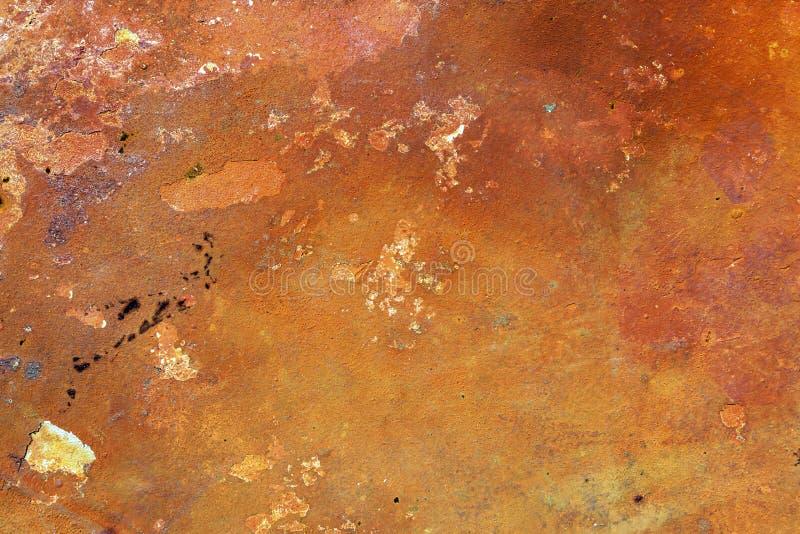 Ośniedziały metal tekstury tło dla wewnętrznej zewnętrznej dekoraci i przemysłowego budowy pojęcia projekta obraz royalty free