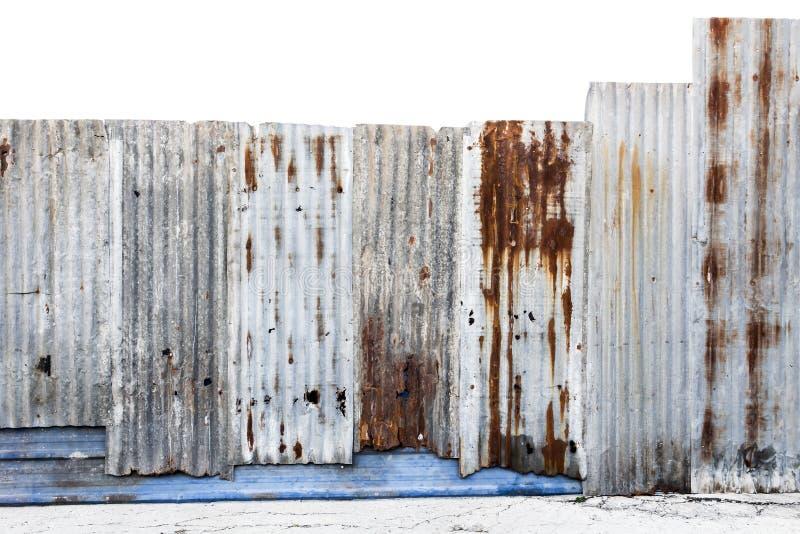 Ośniedziały panwiowy galwanizujący stali żelaza lub ściany metalu prześcieradła surfa zdjęcie royalty free