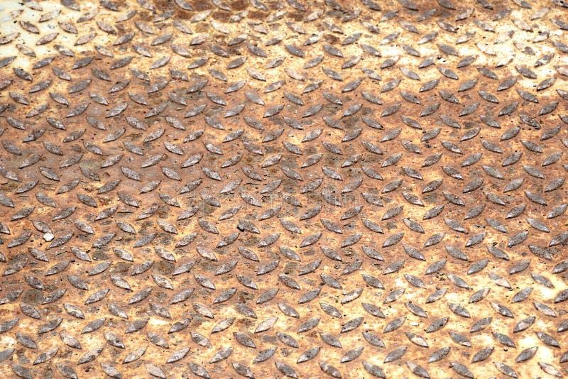 Ośniedziały stary metal tekstury tło obrazy royalty free