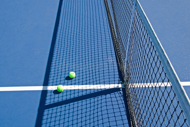 ośrodek klubu tenisa obrazy stock