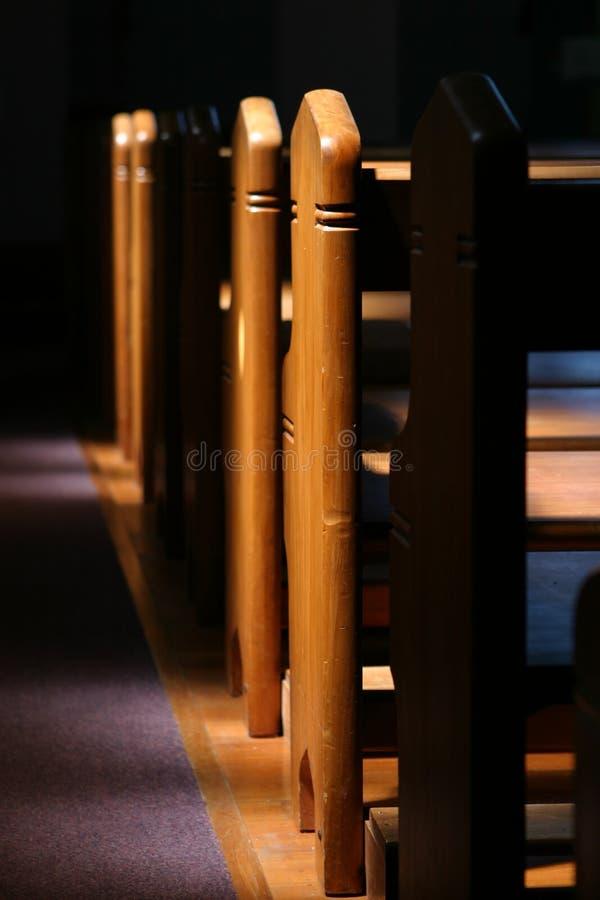 oświetlenie ławki wrażliwy zdjęcia royalty free