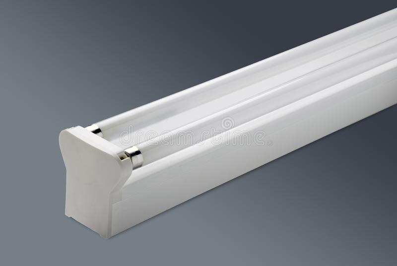 Oświetlenie biurowe Compact Lamp Twin 28 Wattage Balk fotografia stock