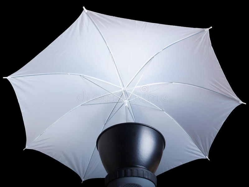 oświetleniowy parasol obraz royalty free